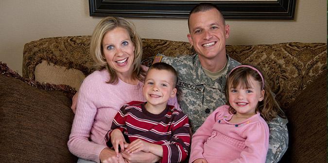 Military Appreciation Honoree - LTC Jason Strickland